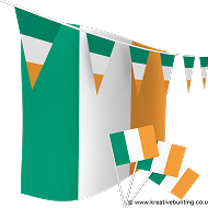 Republic of Ireland Bunting and Flags Bundle